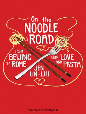 cover image of On the Noodle Road